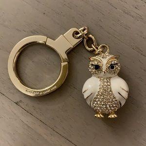 NWOT Kate Spade Bejeweled Owl Key Chain 🦉